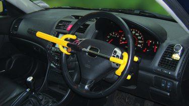 Double Hook Steering Wheel Lock